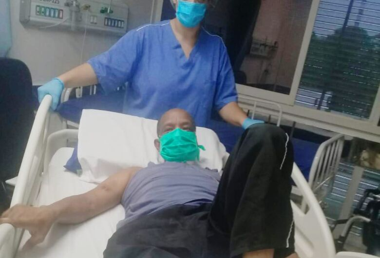 São-carlense ficou entubado por 39 dias e chegou a ser desenganado pelos médicos