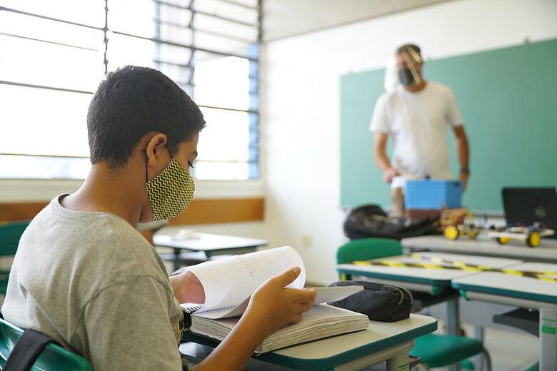 Governo de SP mantém volta às aulas presenciais para o dia 1º de fevereiro - Crédito: divulgação