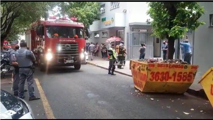 SP: UTI para covid-19 é atingida por incêndio em Ribeirão Preto - Crédito: reprodução