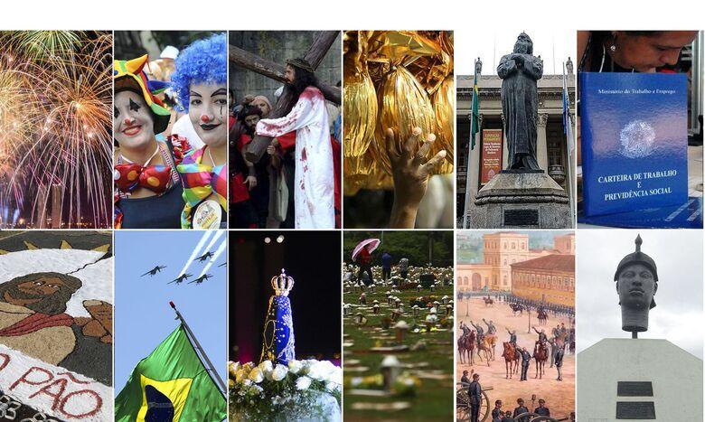 2021 terá três feriados nacionais prolongados - Crédito: Agência Brasil