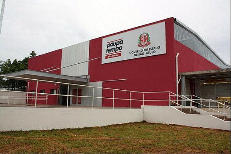 Unidade do Poupatempo em São Carlos - Crédito: Arquivo