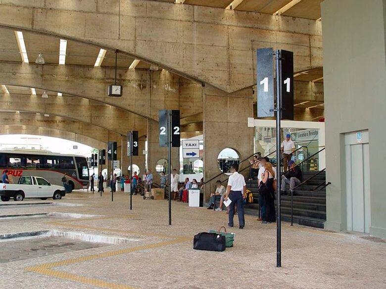 Terminal rodoviário de São Carlos - Crédito: arquivo pessoal