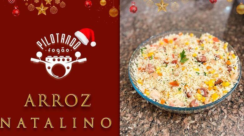 Vinicius Holmo ensina a fazer um delicioso Arroz Natalino -