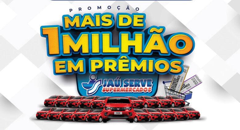 Jaú Serve Supermercados fecha com chave de ouro a Promoção MAIS de 1 Milhão em Prêmios -