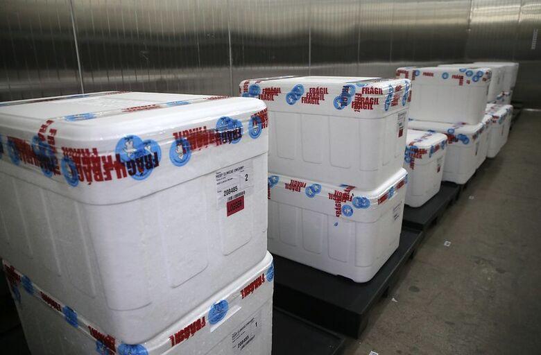 Doses da vacina Coronavac prontas para a aplicação - Crédito: Governo de SP