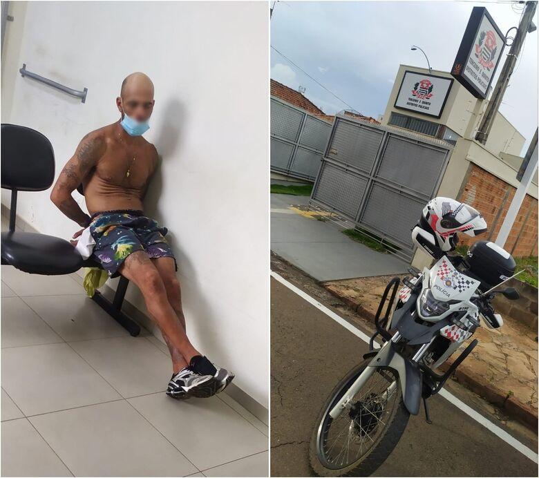 Acusado foi conduzido ao 3º DP - Crédito: Maycon Maximino