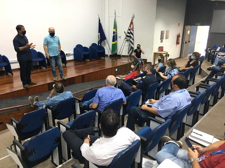 Comitê emergencial discute plano de vacinação contra a COVID em São Carlos - Crédito: Divulgação