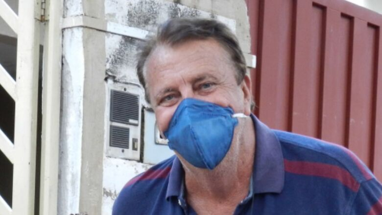 Becão foi internado após testar positivo para o coronavírus - Crédito: Redes sociais