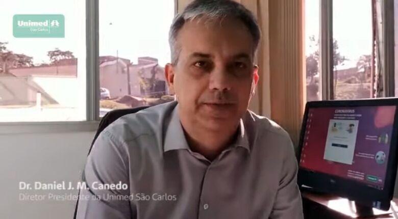 Daniel Canedo, presidente da Unimed São Carlos - Crédito: divulgação