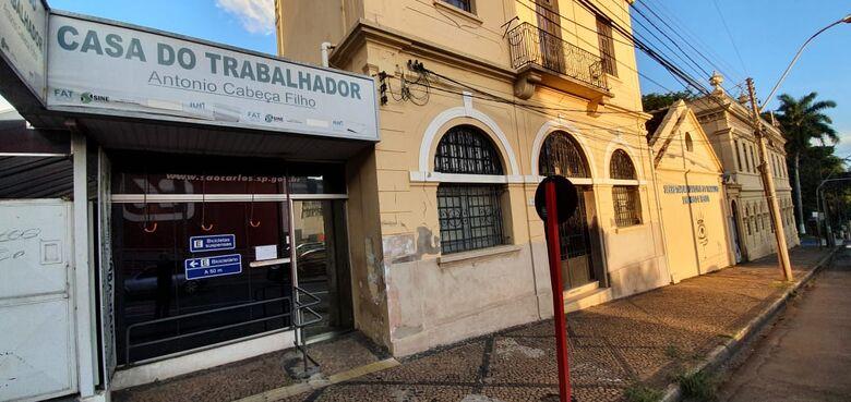 Casa do Trabalhador de São Carlos - Crédito: divulgação
