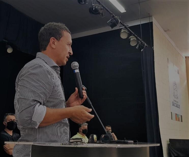 Vice-prefeito Edson Ferraz - Crédito: divulgação
