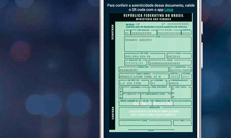 Contran autoriza digitalização de documentos de registro - Crédito: Divulgação