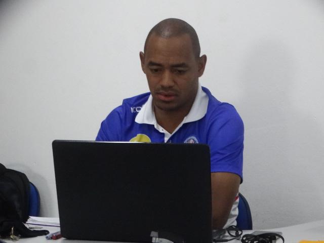 """Marcus Vinícius: """"Em janeiro devemos fechar com alguns atletas que irão se juntar com parte do grupo que permanente desde o ano passado"""" - Crédito: Marcos Escrivani"""