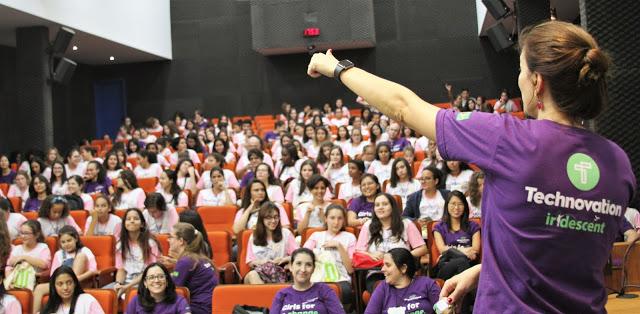 A Technovation Summer School for Girls é organizada pelo Grupo de Alunas de Ciências Exatas (GRACE) do Instituto de Ciências Matemáticas e de Computação (ICMC) da USP - Crédito: Divulgação