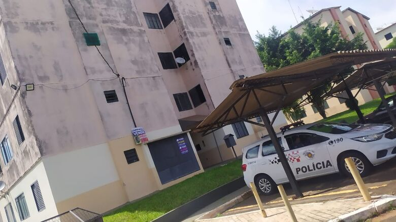 Polícia Militar registrou a ocorrência - Crédito: Maycon Maximino