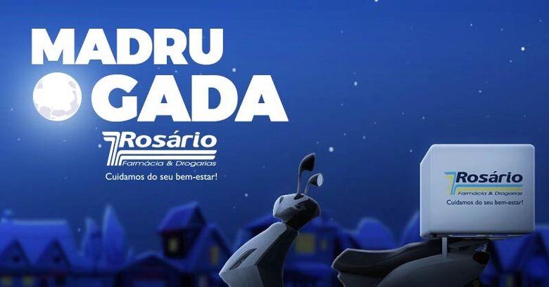 Madrugada Rosário: serviço de entrega remédios na madrugada na cidade de São Carlos -