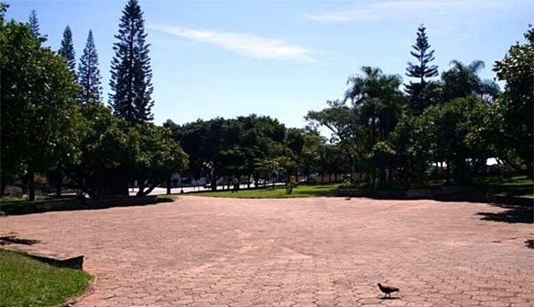 Praça da Independência - Crédito: arquivo SCA