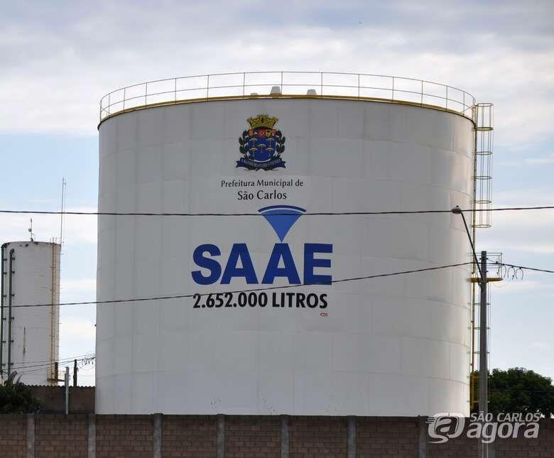 Saae realiza manutenção preventiva e poderá faltar água na região da Vila Nery - Crédito: Arquivo/São Carlos Agora