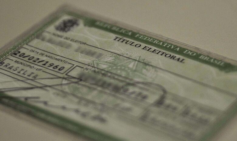 Eleitor tem até esta semana para justificar ausência no 1º turno - Crédito: Agência Brasil