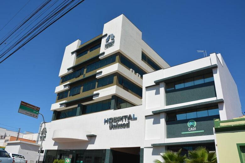 Hospital da Unimed - Crédito: arquivo SCA