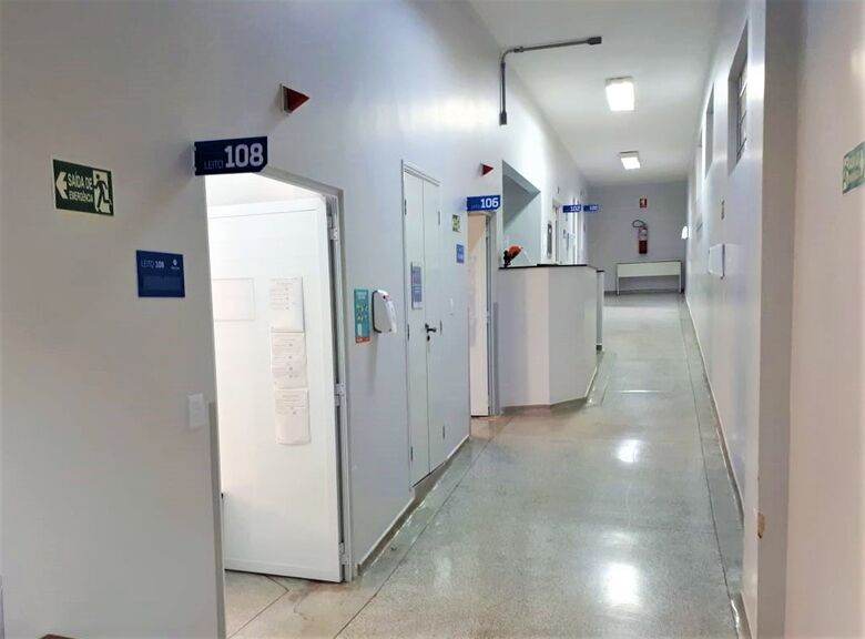 UTI destinada para pacientes com Covid-19 na Santa Casa - Crédito: divulgação