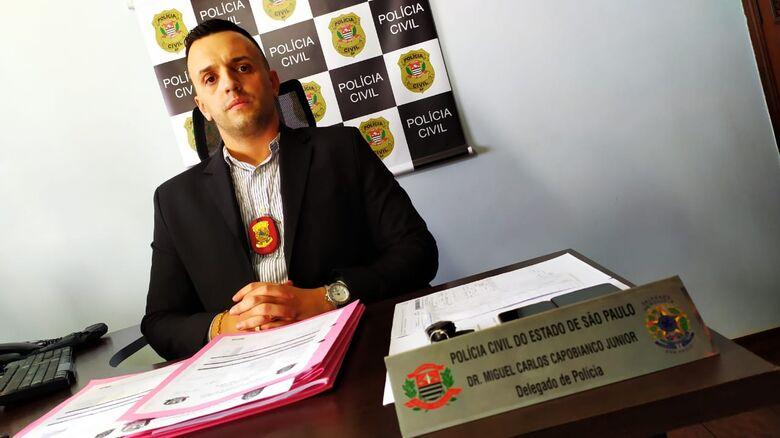 Delegado Miguel Carlos Capobianco Junior - Crédito: Maycon Maximino