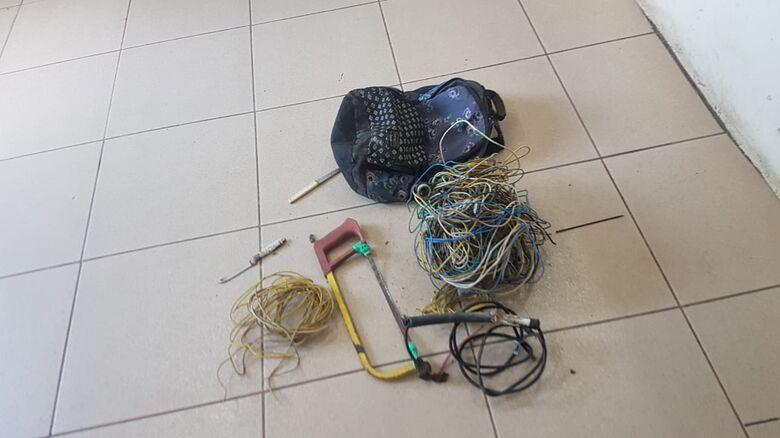 Ladrão é detido após furto em residência no Jardim Ricetti -