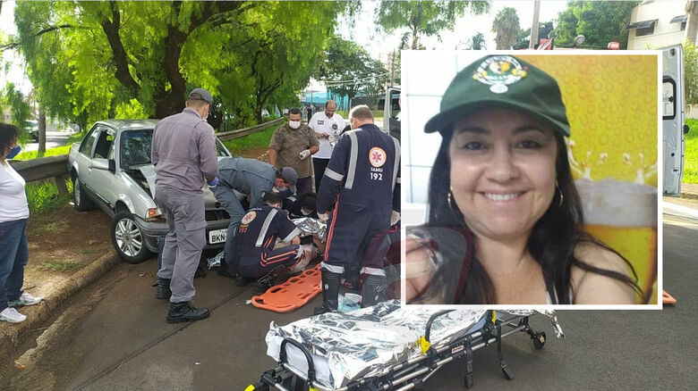 Angela Maria Elis Leal não resistiu aos ferimentos - Crédito: Maycon Maximino