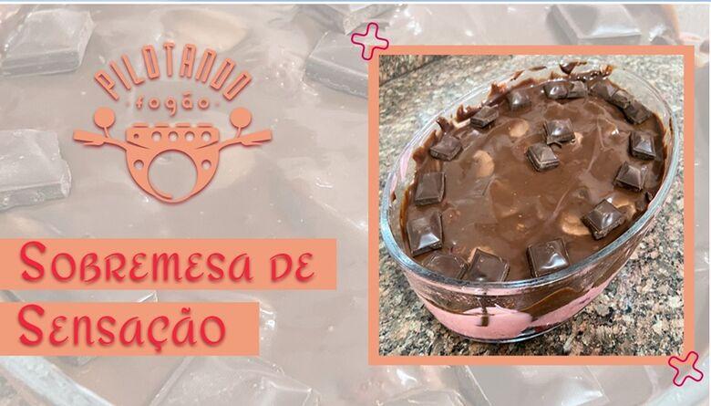Vinicius Holmo ensina a fazer uma deliciosa sobremesa Sensação -