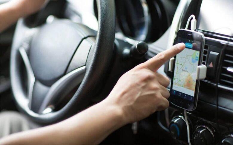 Em lockdown, motoristas de aplicativos de Araraquara atuam em São Carlos - Crédito: divulgação
