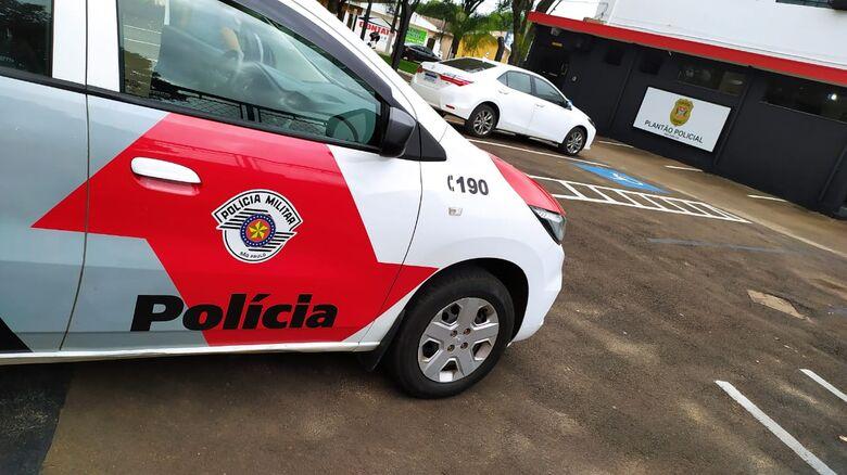 Após importunar a 'ex', homem foi detido pela PM - Crédito: Divulgação