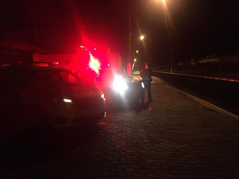Polícia Militar e Guarda Municipal realizam Operação Paz e Proteção no Distrito Industrial de Ibaté -