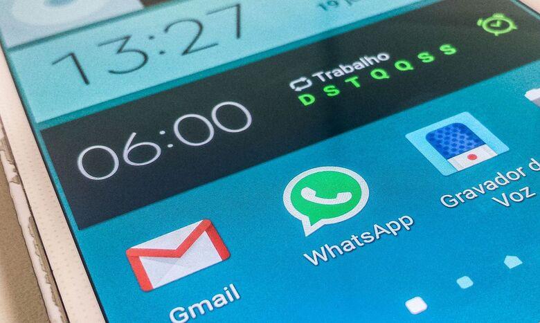 Whatsapp apresentou instabilidade nesta sexta-feira - Crédito: divulgação