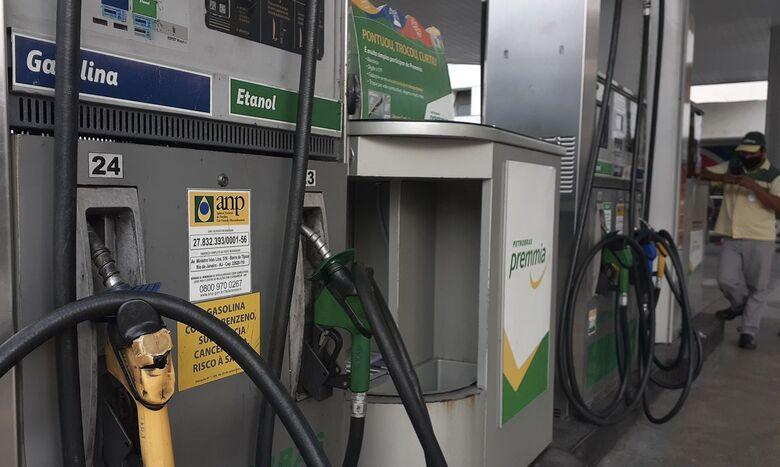 Bomba de combustível - Crédito: divulgação