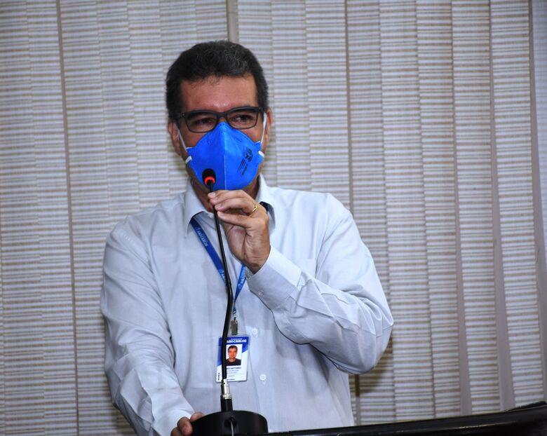 Mário Luiz Duarte Antunes, secretário Municipal de Fazenda. - Crédito: Divulgação