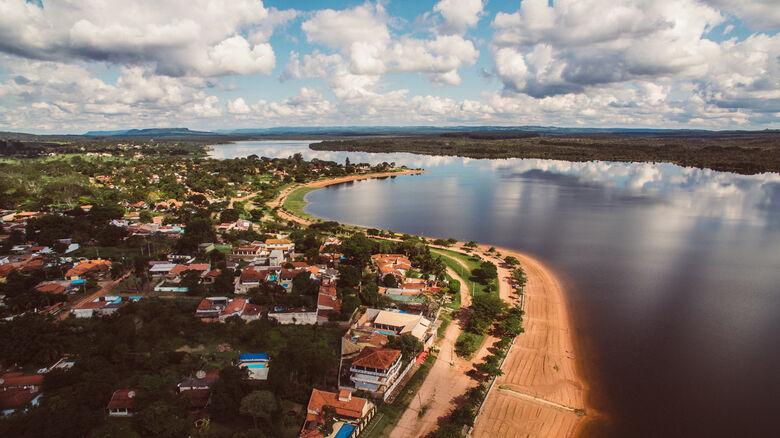 Represa do Broa em Itirapina - Crédito: arquivo pessoal
