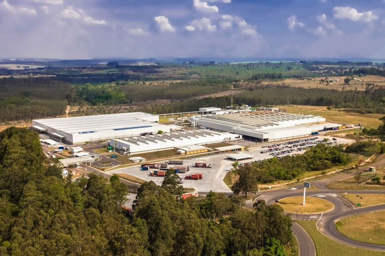 Fábrica da Volkswagen em São Carlos - Crédito: divulgação