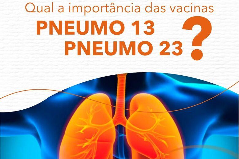 A importância da vacina Pneumo em tempos de pandemia - Crédito: divulgação