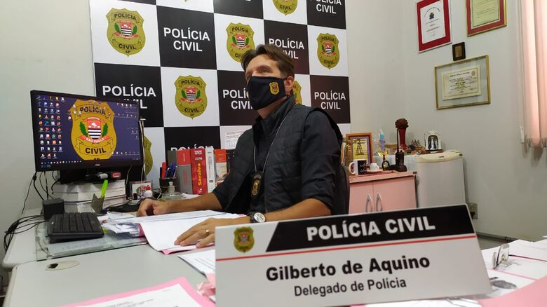 Delegado Gilberto de Aquino - Crédito: Maycon Maximino