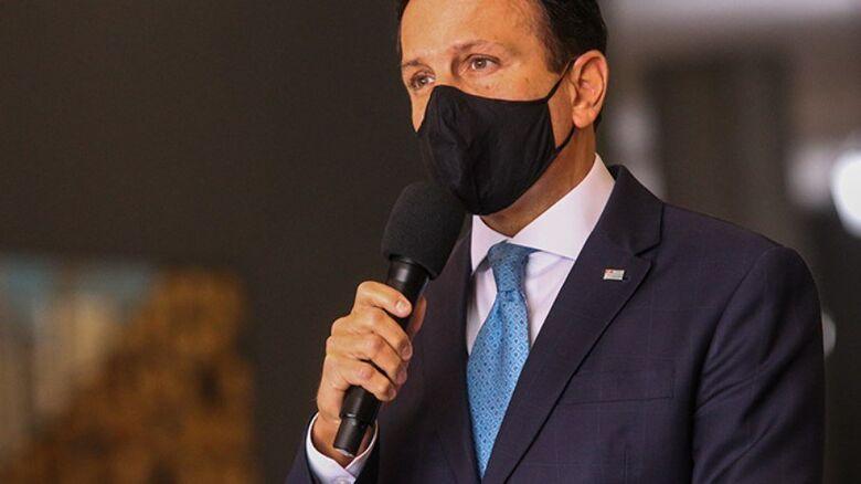 Governador João Doria - Crédito: divulgação