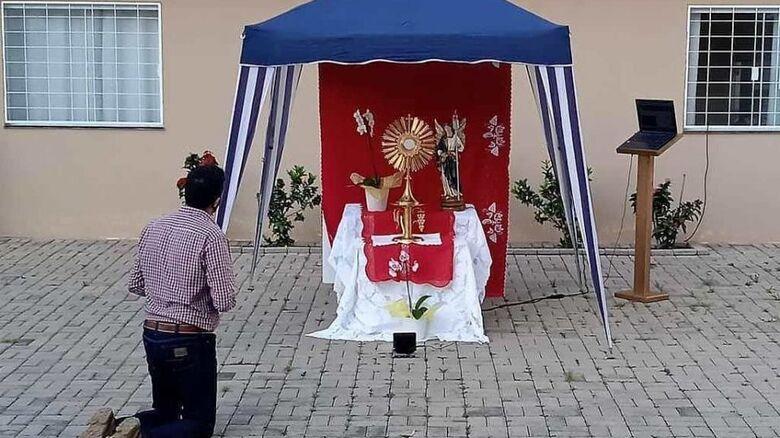 Jesus na Praça atrai fiéis em São Carlos - Crédito: divulgação/Diocese