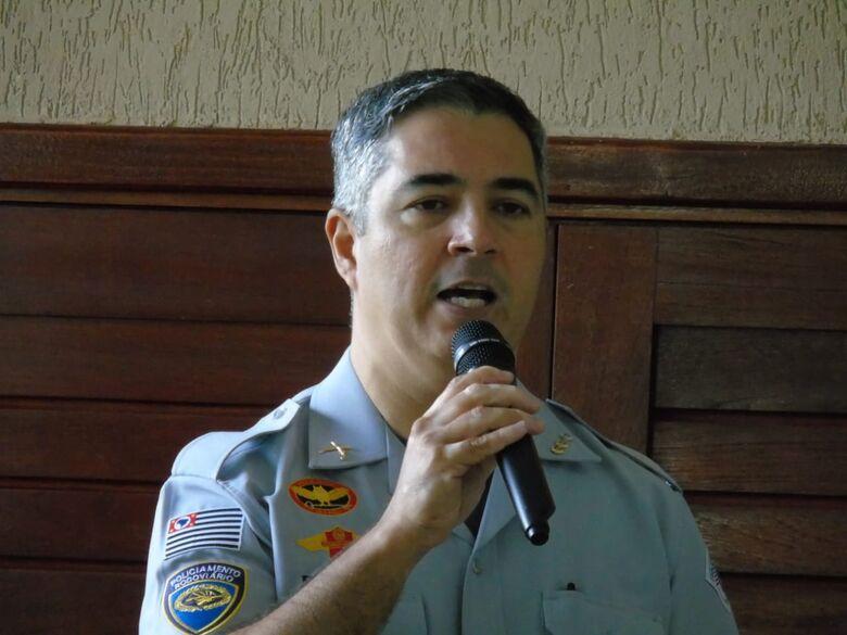 Marcio Simplicio trabalhou em São Carlos como tenente e capitão. - Crédito: divulgação