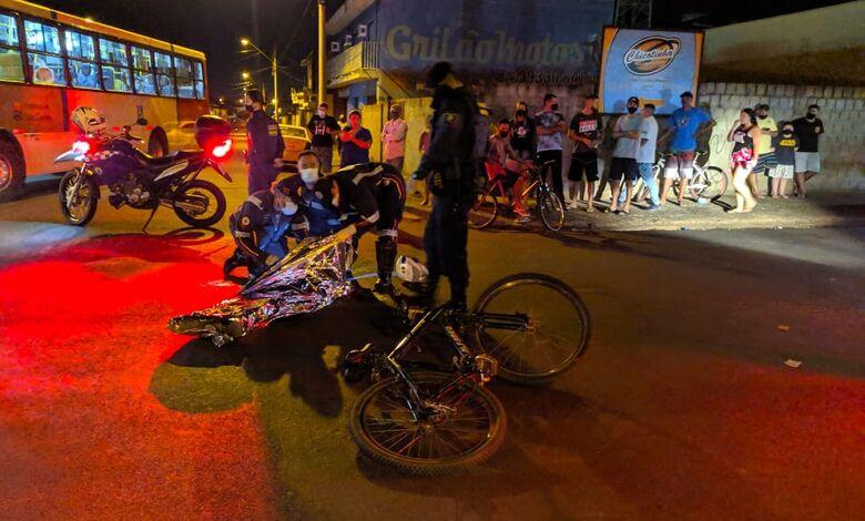 Movimentação no local da tragédia - Crédito: Maycon Maximino
