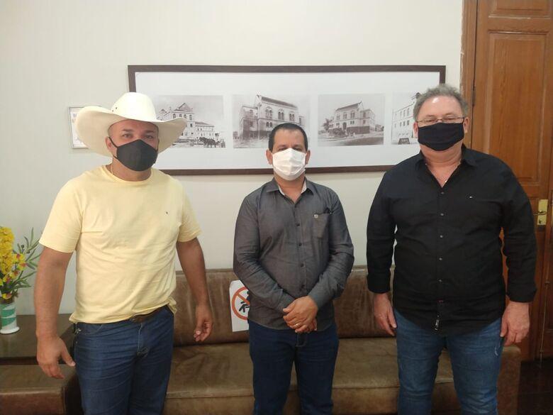 Ubirajara Teixeira – Bira (PSD), Roselei Françoso e Francisco Leoni Neto -