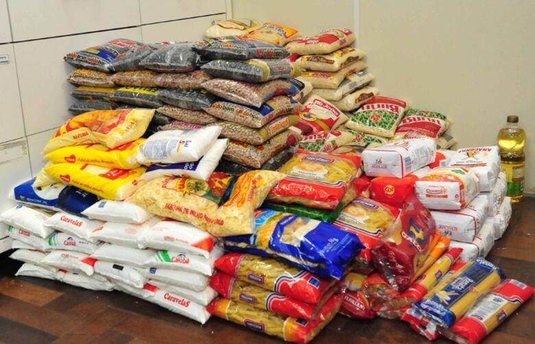 Igreja pede alimentos para poder ajudar famílias que dependem da economia solidária - Crédito: Divulgação