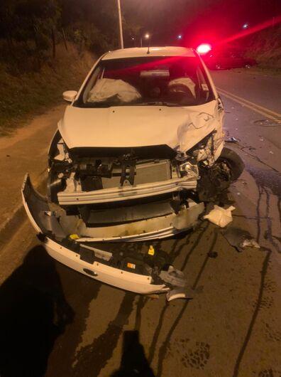 Motorista sem habilitação provoca acidente na região do Jd. Zavaglia - Crédito: São Carlos Agora