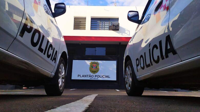 Pedreiro foi detido e encaminhado ao plantão - Crédito: Arquivo/São Carlos Agora