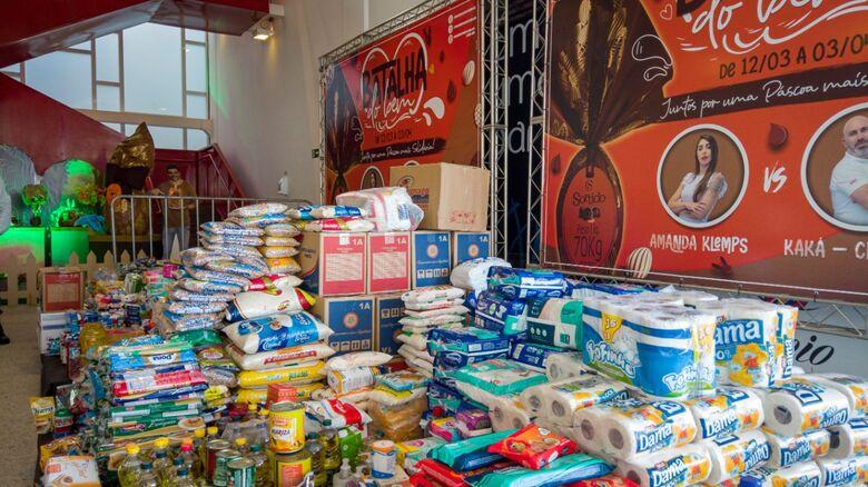 Doações serão entregues ao Fundo Social de Solidariedade de São Carlos - Crédito: divulgação