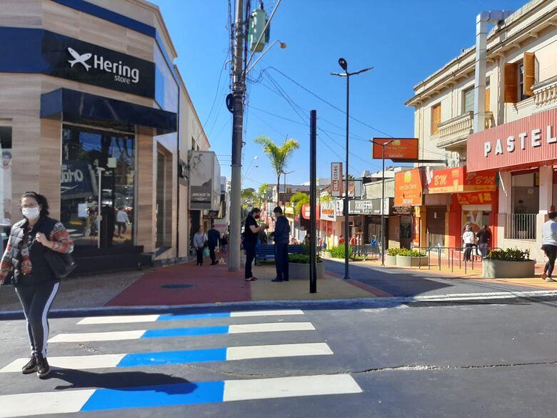 Centro comercial de São Carlos - Crédito: Divulgação
