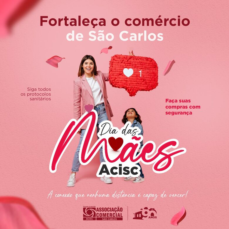 Acisc lança campanha digital para o Dia das Mães - Crédito: Reprodução